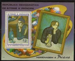 SAO TOME AND PRINCIPE 1982 Picasso, Christmas - Sao Tome Et Principe