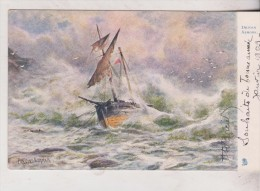 Tuck Postcard  Driven Ashore - Tuck, Raphael
