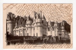 CPA/RES41/CHATEAU D USSE FACADE 1903