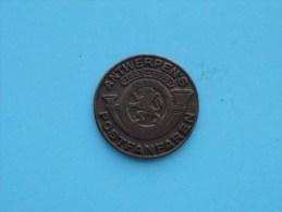 ANTWERPEN´S POST FANFAREN 1893 - 1913 ( Uncleaned Coin / For Grade, Please See Photo ) !! - België