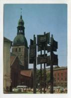 LATVIA - AK 247741 Riga - Doma ... - Lettonie
