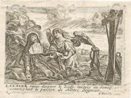 84.JOHANNUS VAN DER STRAETEN - HASSELT 1791 / FRANCINA VAN DER STRAETEN, Geboren SWAAN - HASSELT 1816 - Imágenes Religiosas