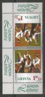 Litauen, 1998, 664, Europa: Nationale Feste Und Feiertage. MNH **, Kehrdruck - Lithuania