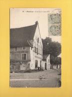 * CPA..dépt 77..PROVINS  :  Hôtel De La Croix D' Or..n°63    :  Voir Les 2 Scans - Provins