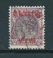 1919 Netherlands Overprint Used/gebruikt/oblitere - Periode 1891-1948 (Wilhelmina)