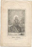89.JOANNES MATHEUS GOUDERS - AUBEL 1850 In De Ouderdom Van 78 Jaren. - Imágenes Religiosas
