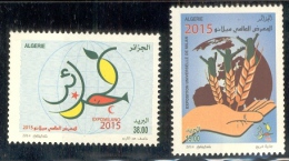 Année 2014-N°1703/1704 Neufs**MNH : EXPO MILANO 2015 - Algerien (1962-...)