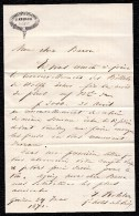JUDAICA !! LOT DE 16 LETTRES HOTEL DE LA PAIX ( Bientôt Ritz Carlton ) à GENEVE ( Propr. KOHLER ) De 1866 à 1871 - Documents Historiques