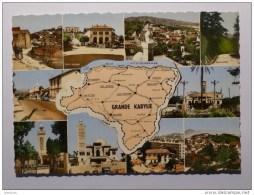 GRANDE KABYLIE (Algérie) - Carte Avec Vues De Nombreuses Villes : Tizi Ouzou , Palestro , Fort National, Michelet ... - Tizi Ouzou