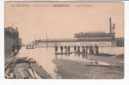 95 - Argenteuil - Inondations De 1910 - Usines Dietrich - Argenteuil