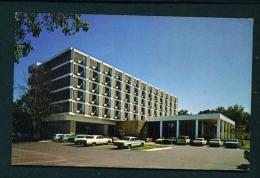 USA  -  Manhatten  University Ramada Inn  Unused Postcard As Scan - Manhattan