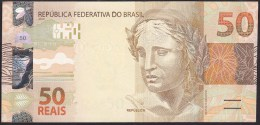 Brazil 50 Reais 2010 P256b UNC - Brasilien
