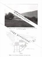 Photographien / Ansichten , 1914 , Schwyz , Häuser , Prospekt , Architektur , Fotos !!! - SZ Schwyz