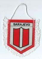 Fanion Football L'équipe Sarajevo - Apparel, Souvenirs & Other