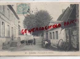23 - FELLETIN - PROMENADE DU CHATEAU   1911 - Felletin