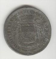 Médaille Mittelrheinisches  Turnfest Zu Mainz - Mayence - 13 Au 16 Aout 1881 - Germany