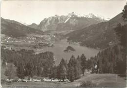 Y1841 Lago Di Cadore (Belluno) - Panorama Col Monte Tudaio / Viaggiata 1970 - Italia