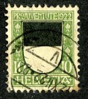 8349 - Swiss 1922   Michel # 176 (o)  (cat. 3.50€ ) - Usati