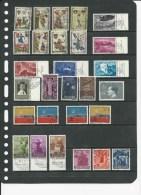 Liechtenstein, Restlotje Tussen Mi 352-436 Jaar 1956-63, Gestempeld,   Cote 36.00 Euro à 15 %, Zie Scan - Oblitérés