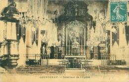 45 - COURTENAY - Intérieur De L'Eglise - Courtenay