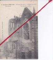 CP 62 - LAVENTIE  - LA GUERRE 14-15--16  - L'église En Ruines - Laventie