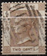 HONG-KONG - 2 C. De 1863/77 Oblitéré - Hong Kong (...-1997)