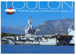 (330) France Navy - Porte Avions Charles De Gaulle - Warships