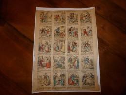 Vers 1900     Pellerin & Cie      L' AUBERGE DU CHEVAL BLANC     Imagerie D'Epinal  N° 1152 - Vieux Papiers