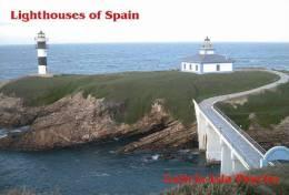 Lighouses Of Spain - Galicia/Isla Pancha Postcard Collector - Faros