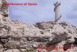 Lighthouses Of Spain (Baleares)  - Illa Espardell Postcard - Phares