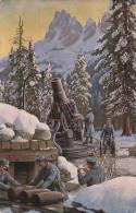 Patriotik - 1. World War - Im Kanpf Um TIROL - In Feuerstellung, Blanco - Guerre 1914-18
