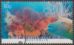 AUSTRALIA - USED 2013 60c Coral Reefs - Great Barrier Reef, Queensland - Usati