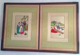 Japanese Diptych - Asian Art