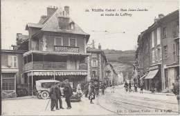 38 - VIZILLE - Isère - Rue Jean-Jaures Et Route De Laffrey - Buffet De La Gare Café Restaurant Vallet - Vizille