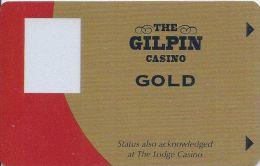 Gilpin Casino Black Hawk CO Gold Slot Card (Blank) - Casino Cards