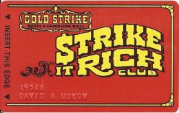 Gold Strike Casino Jean NV 2nd Issue Slot Card - Patent Pending On Reverse - Casino Cards
