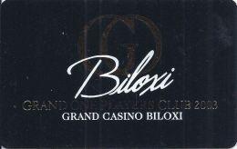 Grand Casino Biloxi 2003 Grand One Players Club Slot Card  (Blank) - Casino Cards