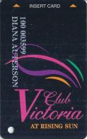 Grand Victoria Casino Rising Sun IN 2nd Issue Slot Card - Casino Cards