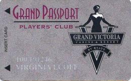 Grand Victoria Casino Rising Sun IN 5th Issue Slot Card (Printed) - Casino Cards