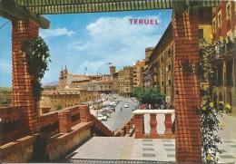 D1125 -  POSTAL - TERUEL - PASEO DEL GENERALISIMO - Teruel
