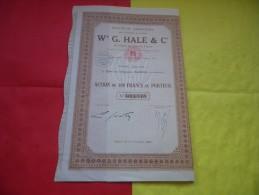 W G. HALE (1929) SAIGON , INDOCHINE - Non Classificati