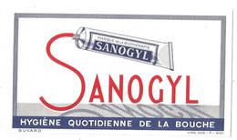 Buvard Sanogyl Dentifrice - Buvards, Protège-cahiers Illustrés