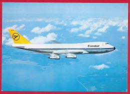 AK Flugzeug BOEING 747 ´Jumbo - Condor´ ~ 1985 - 1946-....: Modern Tijdperk