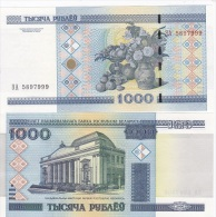 Belarus - 1000 Rubles (2000) ЭЯ 2011 UNC Lemberg-Zp