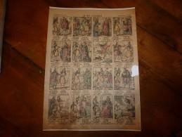 Vers 1900    Imagerie  Pellerin    LE ROI DAGOBERT     Imagerie D'Epinal  N° 706 - Old Paper