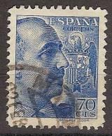 España U 0874 (o) Franco. Sanchez Toda - 1931-50 Gebraucht