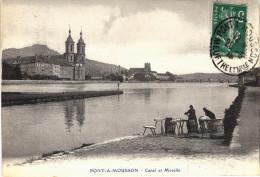 Carte Postale Ancienne De PONT A MOUSSON - Pont A Mousson