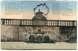 - Wottstad -  Alzey, Brunnen Mit Stadwappen, Peu Courante, écrite En Janvier 1919, TBE, Scans. - Alzey