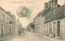 HENRICHEMONT - Rue DAUPHINE Animée - 2 Scans - Henrichemont