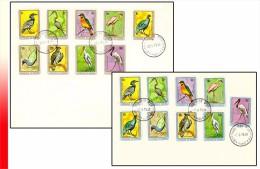 Burundi 0830/38 PA 487/95(o) FDC   Oiseaux - Burundi